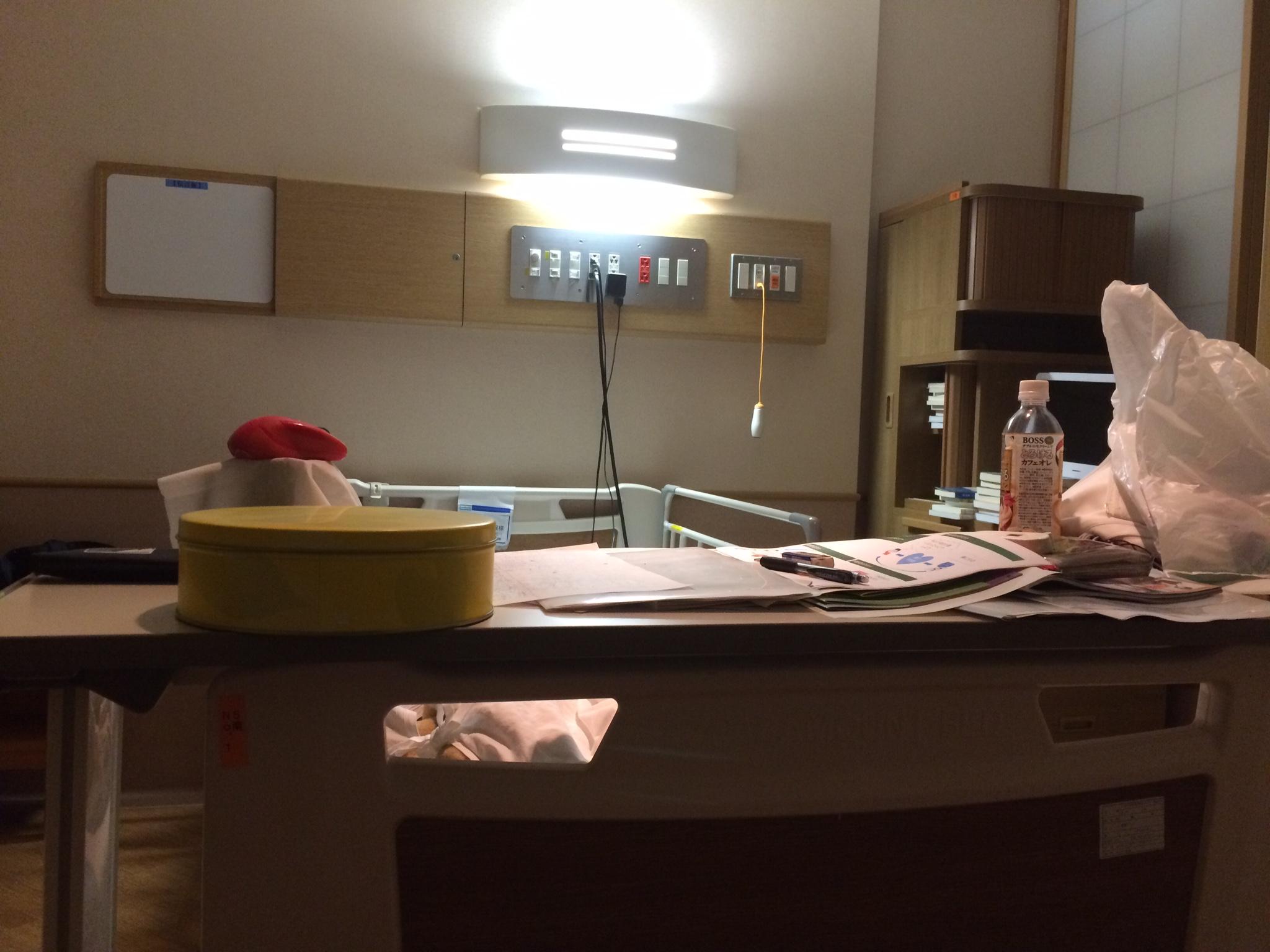 入院中の猛勉強