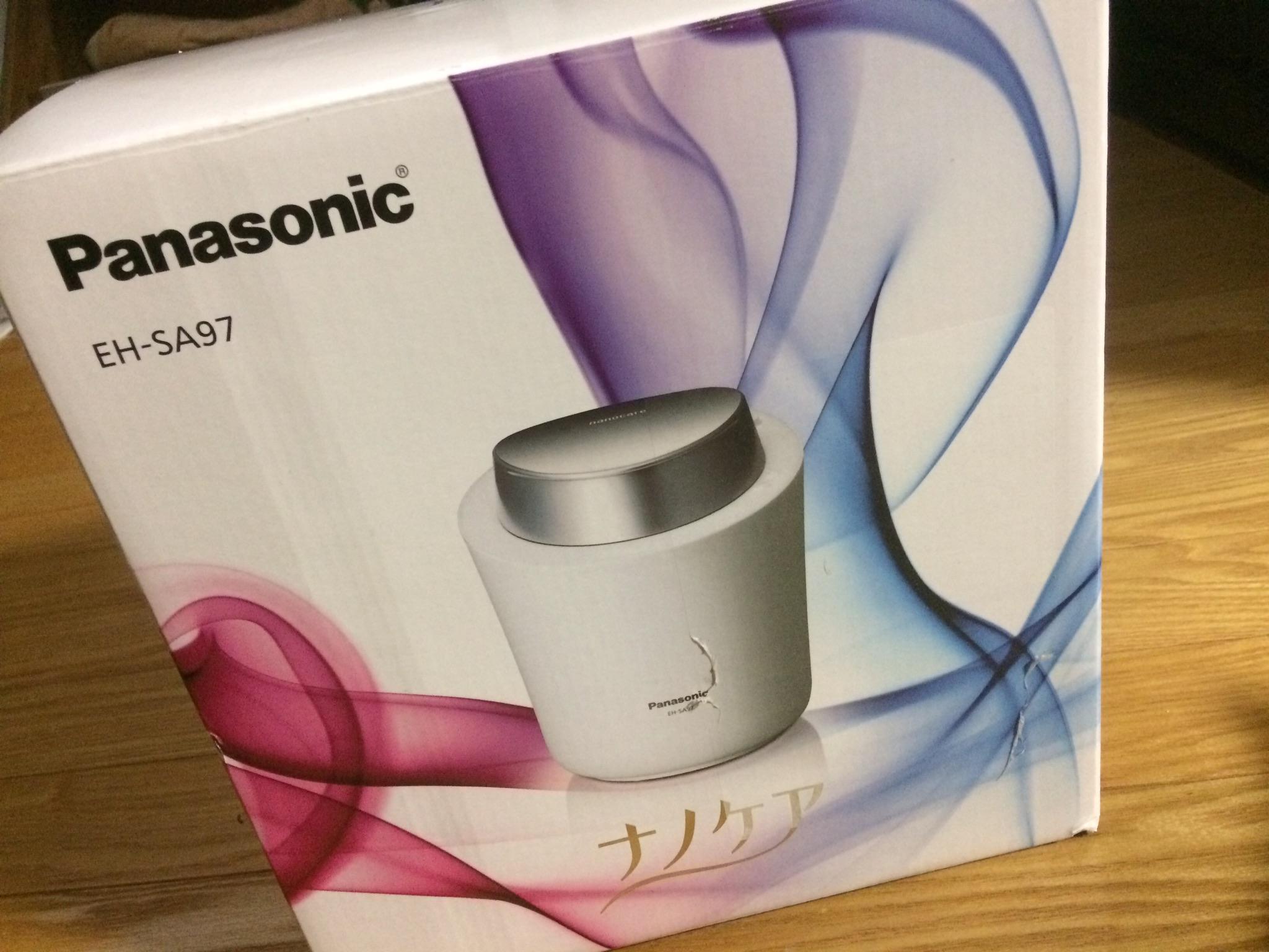 Panasonicの美容器具を買った