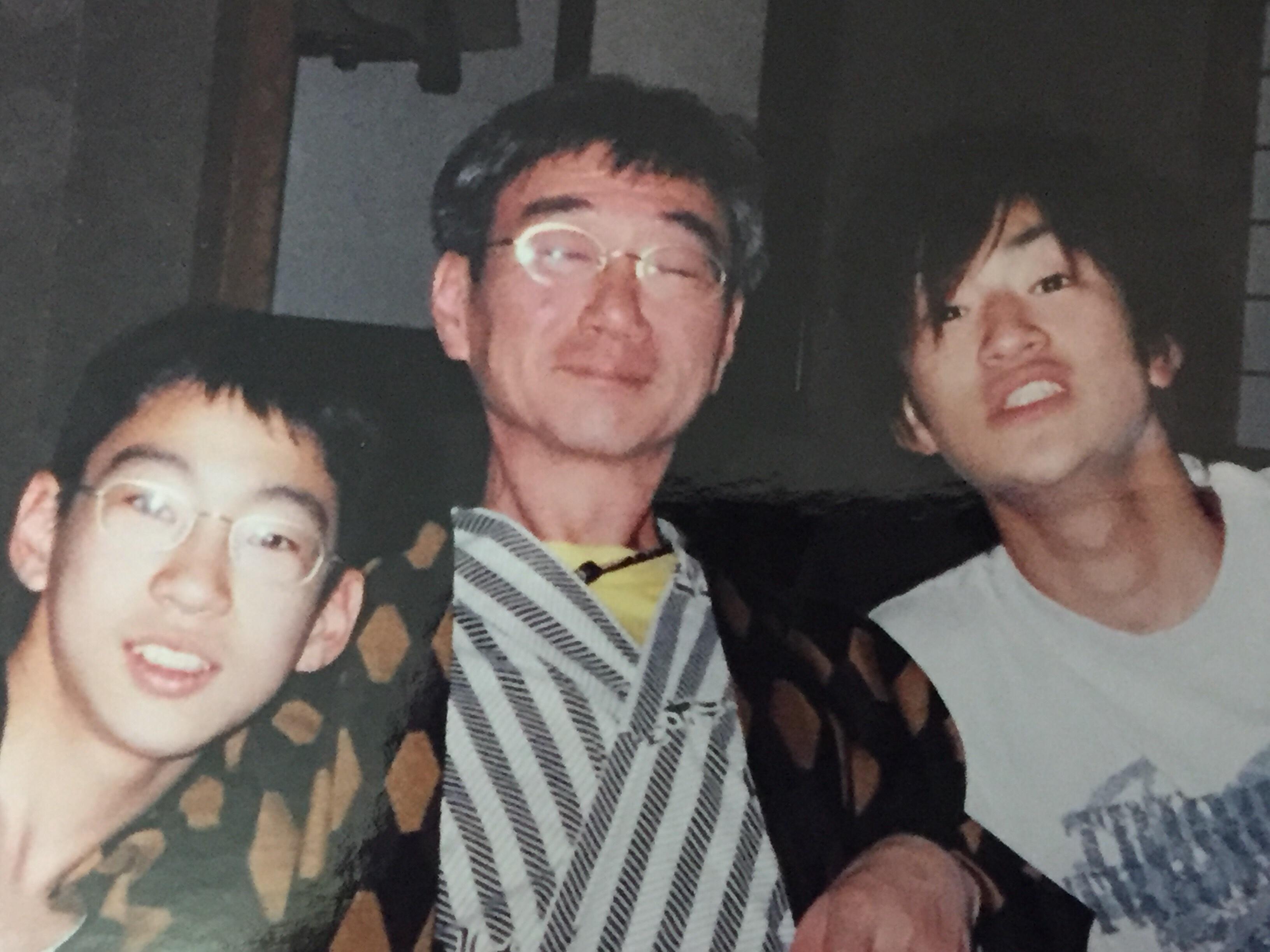 お父さん、もう10年も経ったのですね!!